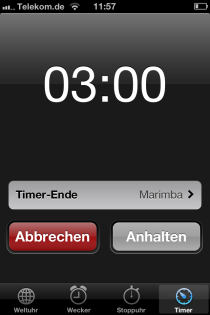 18_Drei Minuten ruhen